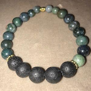 Handmade Jasper Gemstone Bracelet
